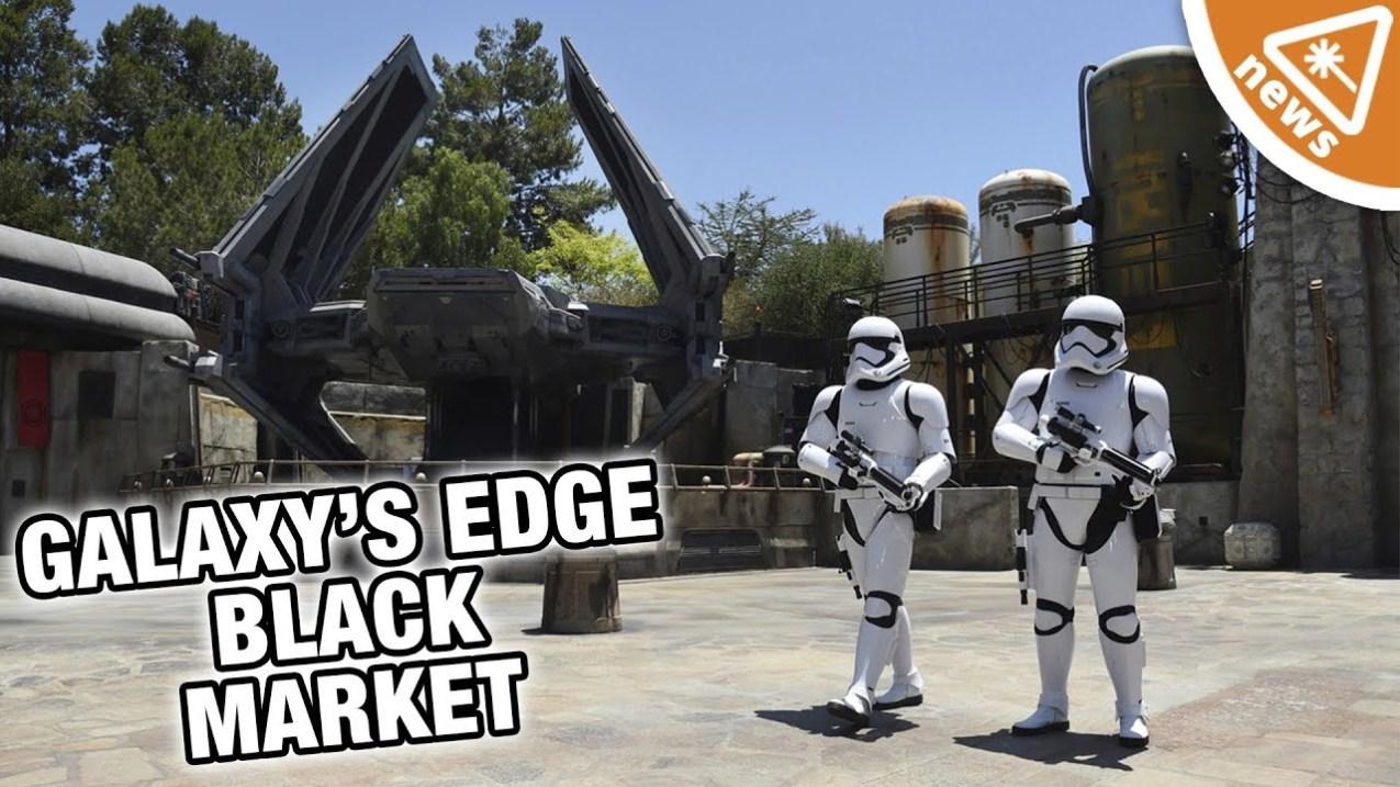 Star Wars: Galaxy's Edge Illegal Black Market at Disneyland