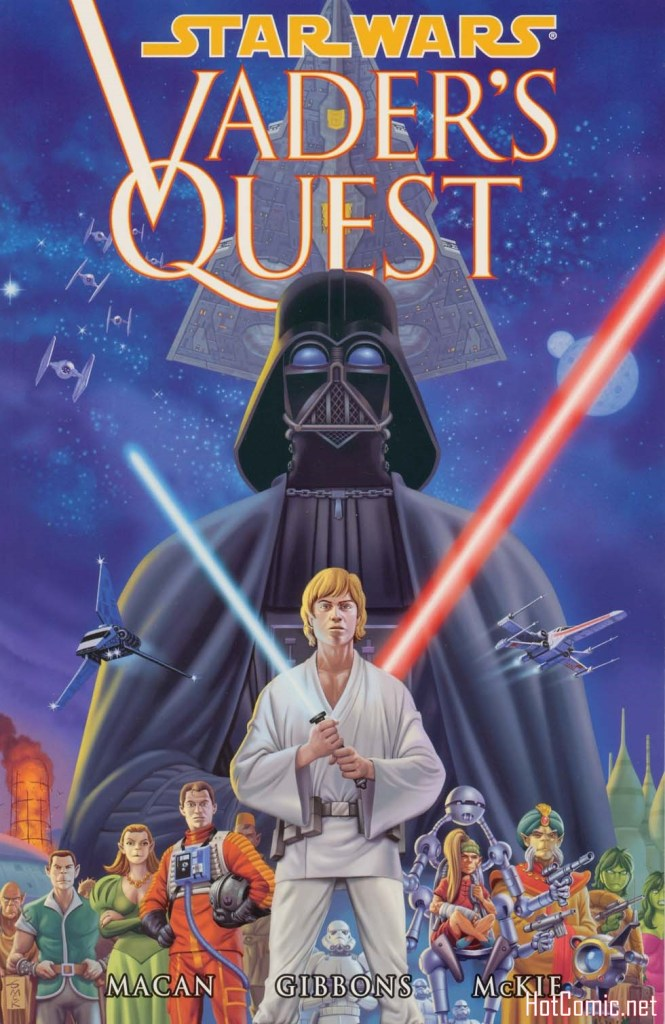 Star Wars: Vader's Quest Issue # TPB 1