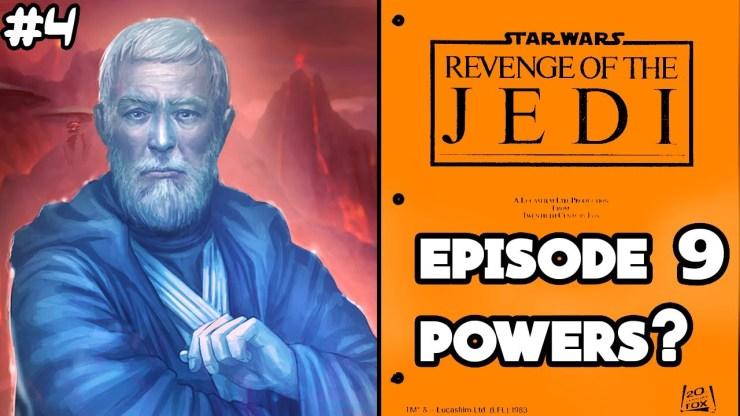 George Lucas Reveals Force Ghost Powers - Return of the Jedi Script PART4 1