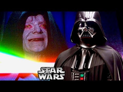 The Real Reason Why Vader Protected Sidious from Luke's Attack in Episode 6