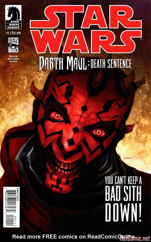 Star Wars: Darth Maul – Death Sentence