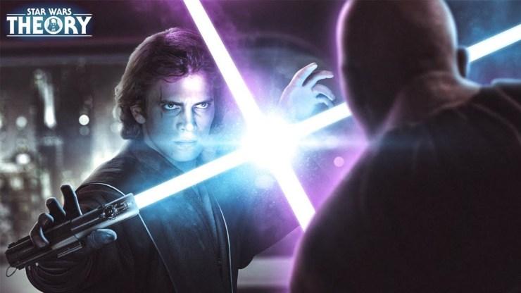 What if Anakin Skywalker Fought Mace Windu? - Star Wars Theory 1