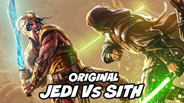 5000 Year ORIGINAL Jedi Vs. Sith War: The Great Hyperspace War - Star Wars 1