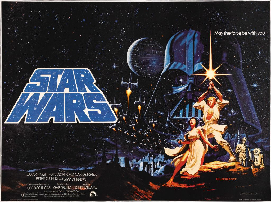 20 Beautiful Star Wars Episode IV - A New Hope Vintage Posters 2
