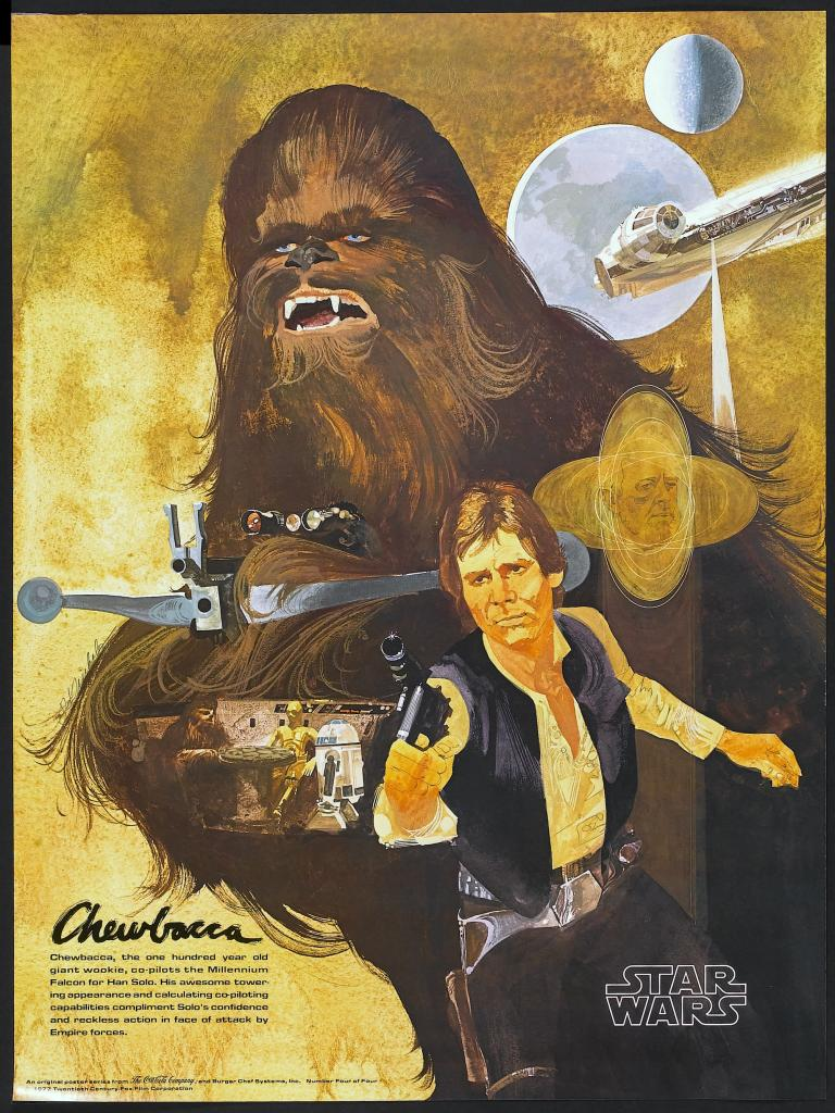 20 Beautiful Star Wars Episode IV - A New Hope Vintage Posters 15