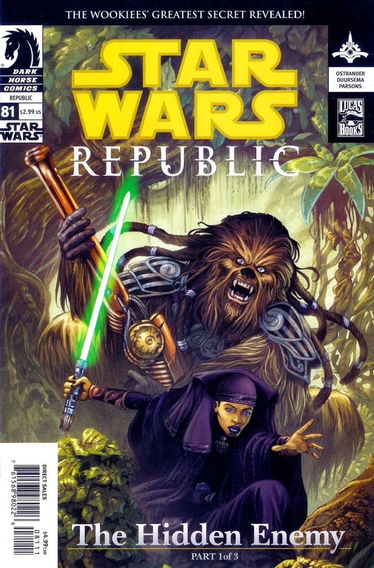 Star Wars: Republic 81: Hidden Enemy