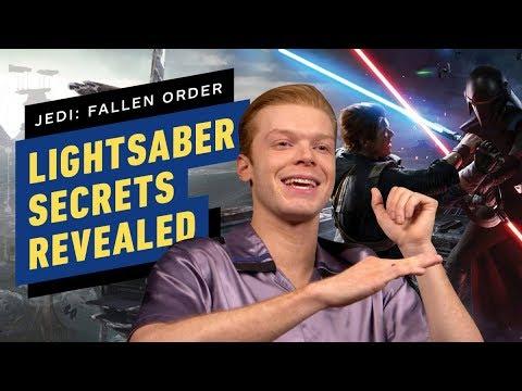 Cameron Monaghan Reveals Secrets of Cal's Lightsaber in Star Wars Jedi: Fallen Order 1