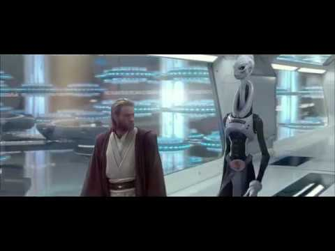 Star Wars Attack of the Clones - Obi-Wan Meet The Clone Army for the Republic.