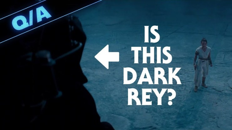 Will Rey Confront Dark Rey in The Rise of Skywalker - Star Wars Explained 1