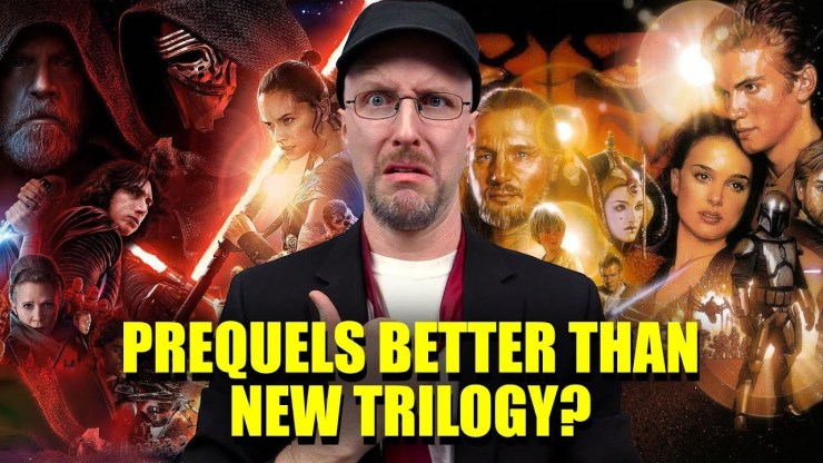 Prequels Better Than the New Trilogy? - Nostalgia Critic 1