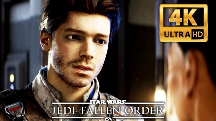STAR WARS: JEDI FALLEN ORDER 4K All Cutscenes 1