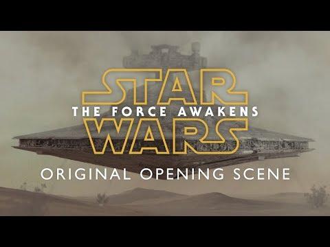 Star Wars The Force Awakens - Original opening scene 1