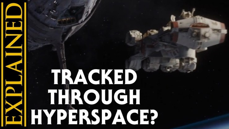 How the Tantive IV was Tracked Through Hyperspace 1