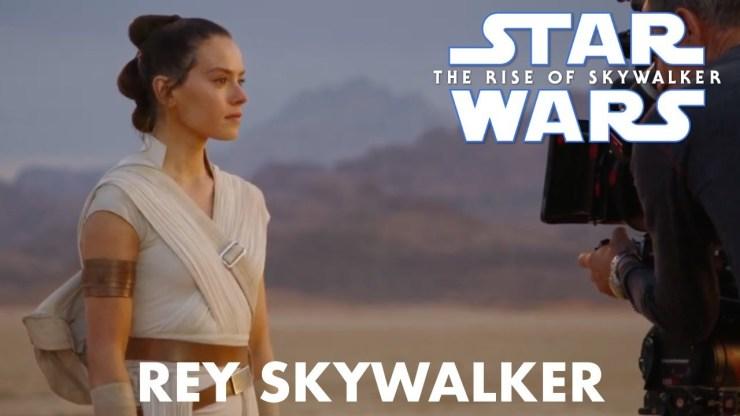 The Rise of Skywalker Rey Skywalker Behind the Scenes 1