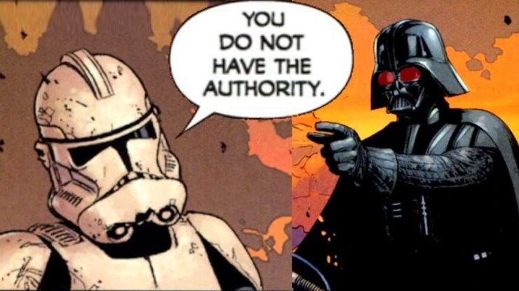 The Clone Commander that Demoted Darth Vader - Star Wars 1