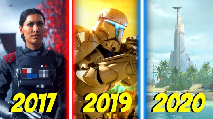 All Battlefront 2 Trailers & Community Updates 2017-2020 1