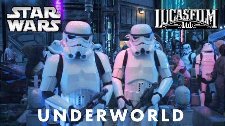 Star Wars Underworld TV Series Test Footage - George Lucas