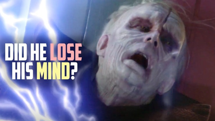 Was Palpatine Suffering from a Brain Injury? 1