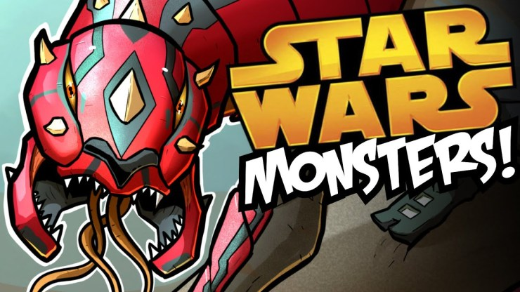 What if Star Wars Characters Were Monsters? (Speedpaint) 1