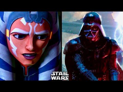 Why Ahsoka Couldn't Sense Anakin/Darth Vader After Order 66!
