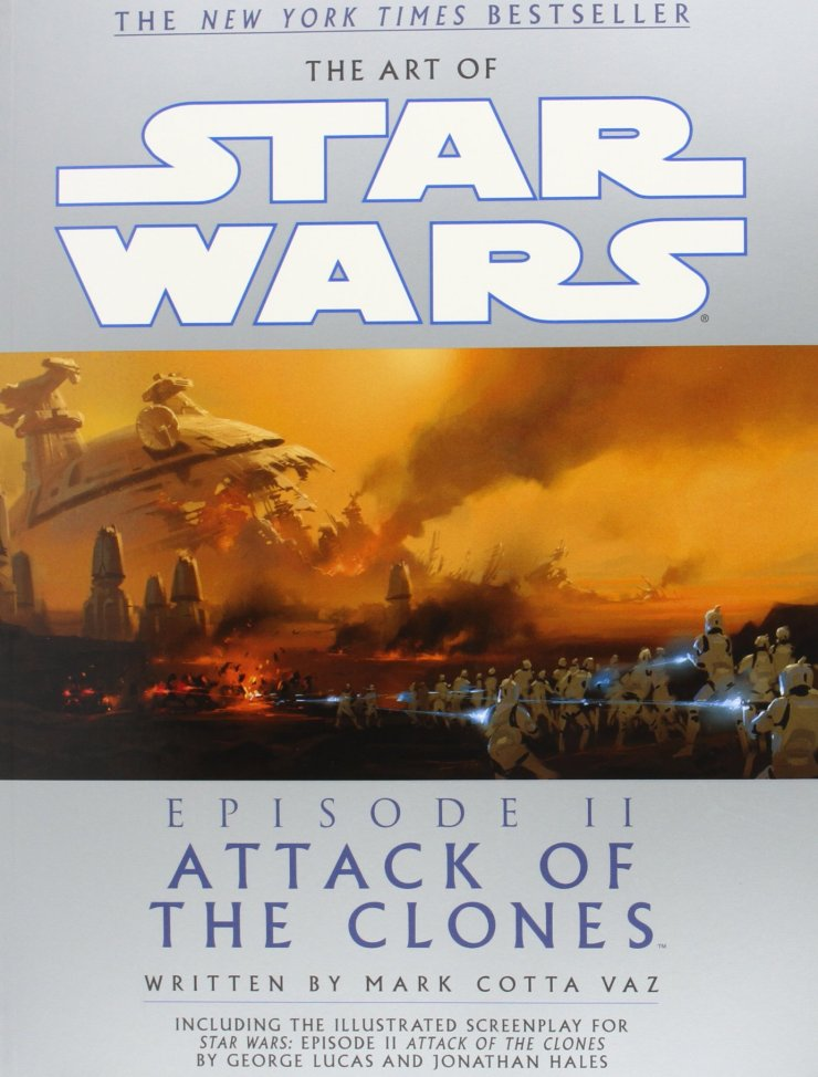 The Art of Star Wars, Episode II - Attack of the Clones