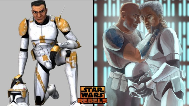 Dave Filoni Reveals Cody Was originally In Star Wars Rebels