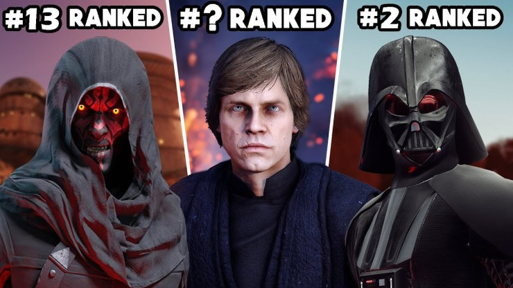 Star Wars Battlefront II - Ranking ALL 22 HEROES & VILLAINS 1