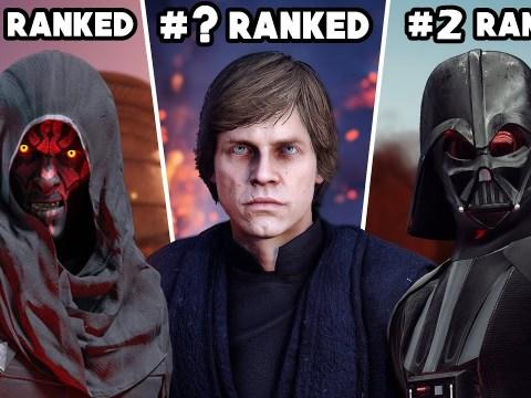 Star Wars Battlefront II - Ranking ALL 22 HEROES & VILLAINS 5