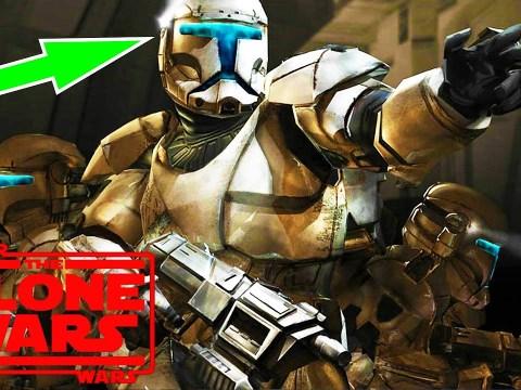 The Reason Clone Commando Visors Glowed Blue - Clone Wars 10