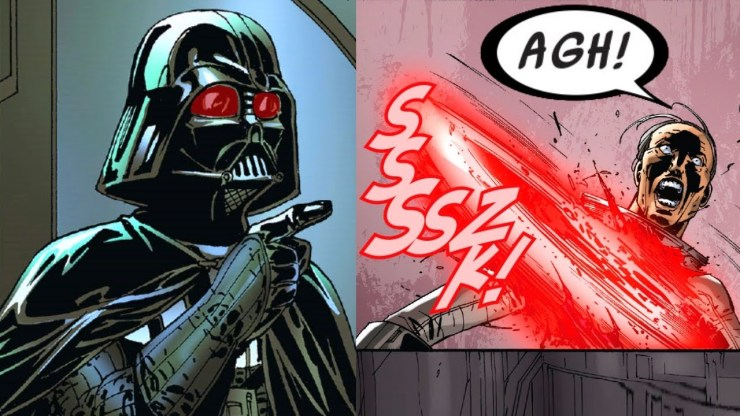 When Darth Vader was Punched in the Gut by the truth (Canon) 1