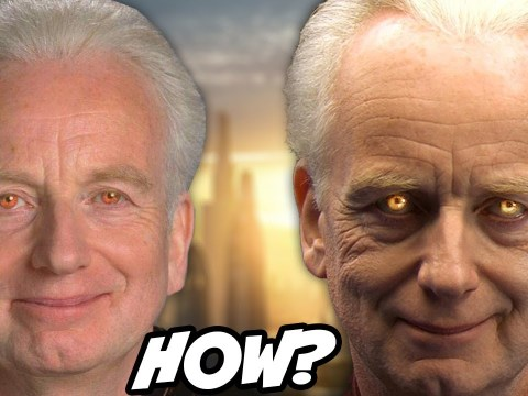 How Palpatine Hid his Sith Eyes From the Jedi 7