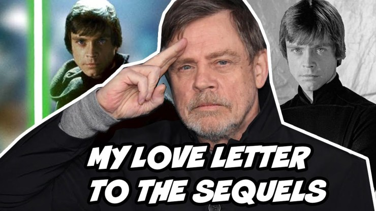 Not My Luke Skywalker: A Love Letter to the Sequels 1