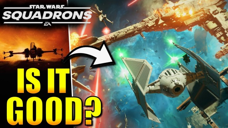 Star Wars Squadrons Gameplay . Is it good ? 1
