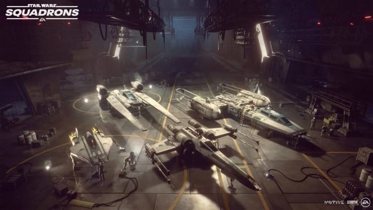 8 4K Ultra HD Star Wars Squadrons Videogame Wallpapers 1