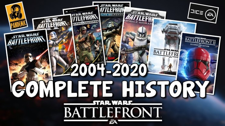 The Complete History of Star Wars Battlefront Games! (2020) 1