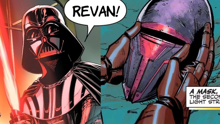 When Darth Vader Discovered Darth Revan S Mask
