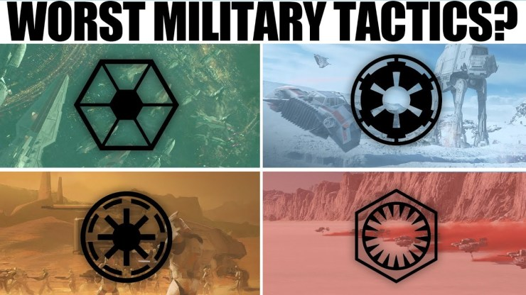 Which Star Wars Faction has the WORST TACTICS?