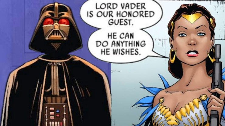 Darth Vader Visits a Funeral for Rebel Leaders (Canon) 1