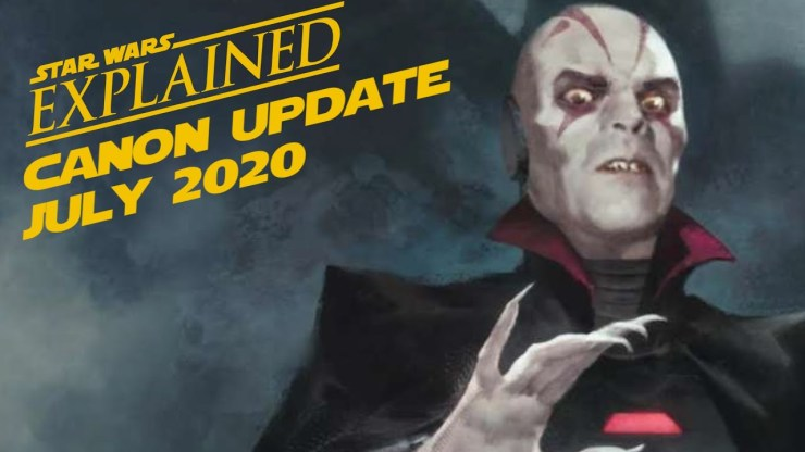 July 2020 Star Wars Canon Update 1