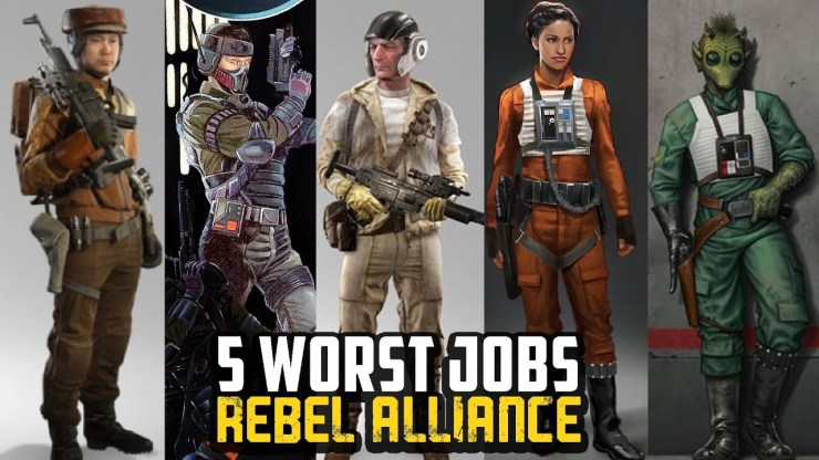 5 Worst Jobs in the Rebel Alliance 1