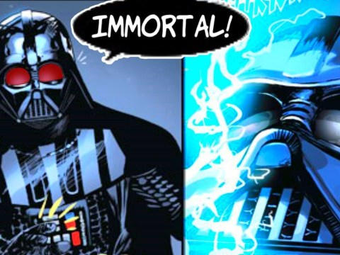 DARTH VADER LEARNS HOW TO BECOME IMMORTAL 1