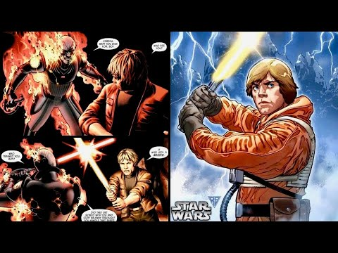 Luke Found a Yellow Lightsaber and Fought the Grand Inquisitor 7