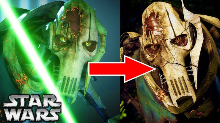 The CREEPY Fate of General Grievous' BODY After His Death 1