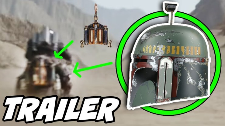 The Mandalorian Season 2 Boba Fett Easter Egg From Trailer