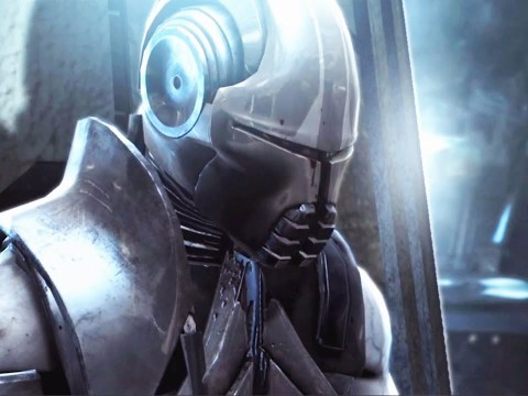 Darth Sidious Repairs Starkiller (Star Wars The Force Unleashed)