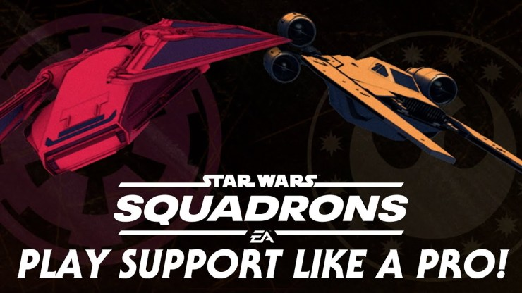 How to Play Support Ships Like a Pro in Star Wars: Squadrons 1