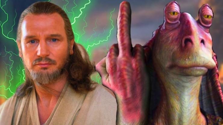 Liam Neeson REVEALS Star Wars Prequels Drama