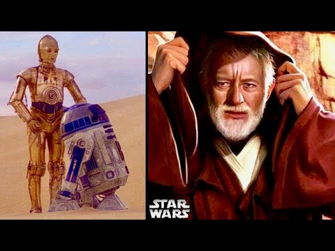 Obi-Wan's Thoughts When Seeing R2-D2 and C-3PO (Tatooine) 6