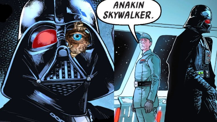 The New Imperial that Found out Darth Vader was Anakin