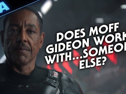 Does Moff Gideon Work With...Someone Else ?